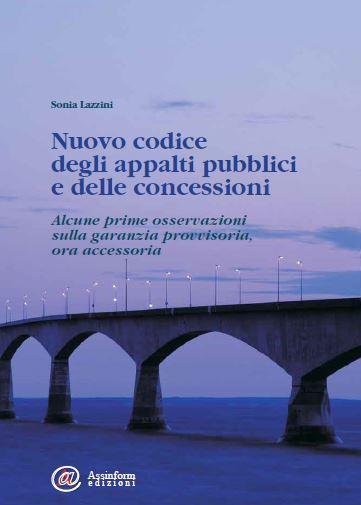copertina Nuovo codice degli Appalti pubblici e delle concessioni